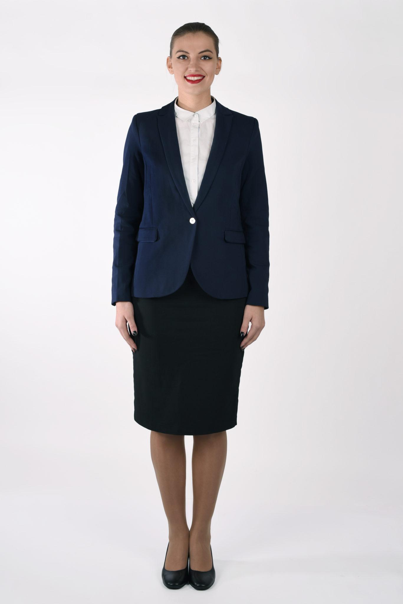 biznesowe wizerunkowe stewardessa